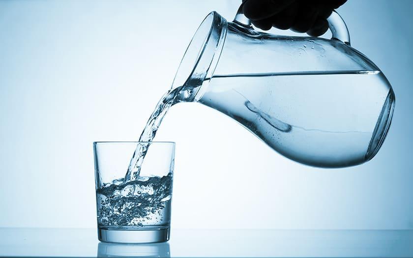 Drick vatten i enduro
